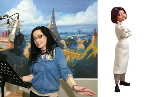 Janeane Garofalo as Colette (Ratatouille)