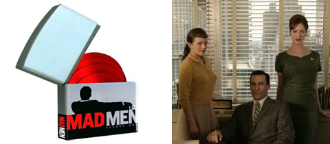 Mad Men on DVD and AMC