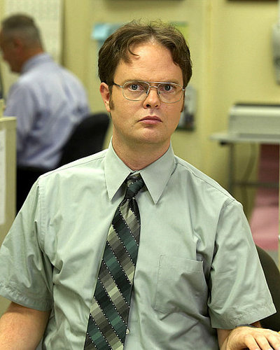 Rainn Wilson as Dwight Schrute in an Ad for The Office at the 2008 Olympics