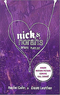 Buzz Book Club: Nick and Norah's Infinite Playlist 2008-09-12 09:30:40
