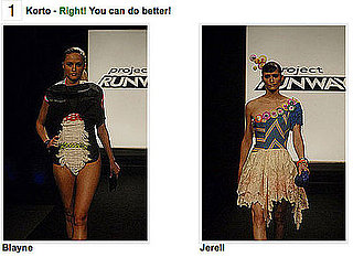 Which Project Runway Look Is More Fab? Play My Game!