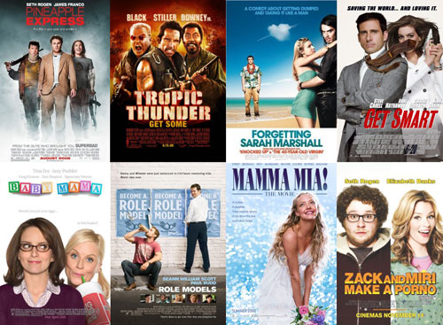 What Is the Best Comedic Movie of 2008?