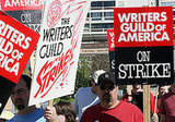February: The Writers' Strike Ends