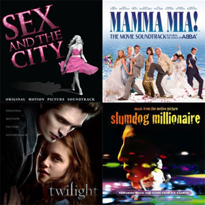 The Best Soundtrack Songs of 2008