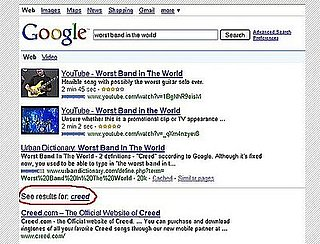 What's the Worst Band in the World According to Google?