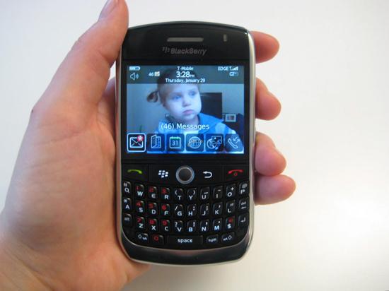 Hands On With the New BlackBerry Curve 8900