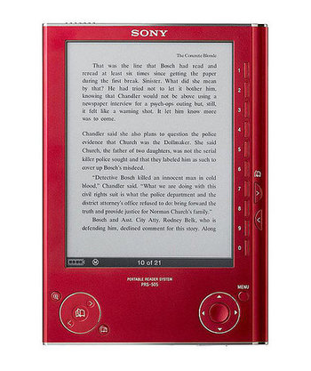 Sony's Red eReader