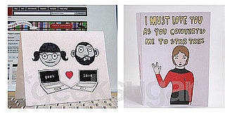 Two Geeky Card Options For Your Valentine