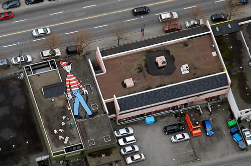 Where is Waldo, Indeed!