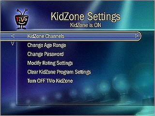 Use TiVo KidZone to Set Parental Controls For Your Children