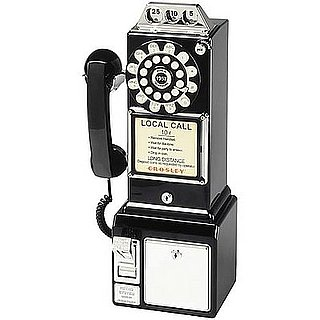 Crosley 1950's Style Payphone is an In-Home Payphone