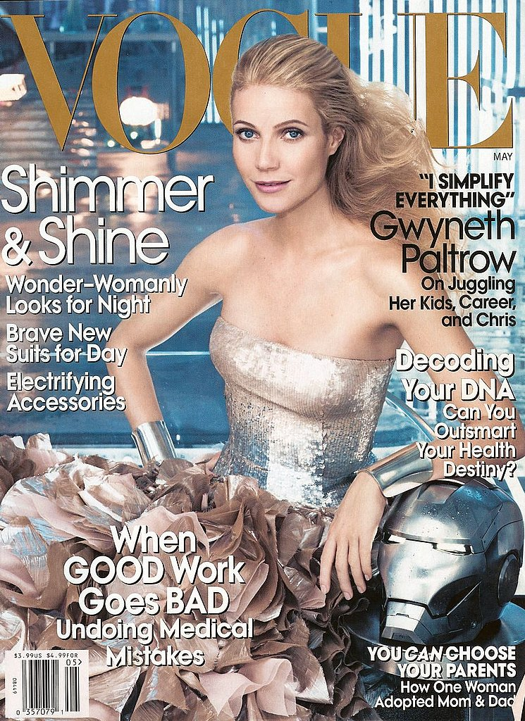 Vogue's May Issue Features Iron Man's Gwyneth Paltrow
