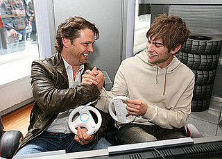 Daily Tech: Jason Priestley and Chace Crawford Share a Wii Wheel Moment