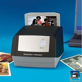 Turn Your 35mm Photos Into Digitals With Hammacher Schlemmer's Digital Picture Converter