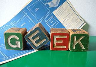 Race You to the Checkout! Vintage Alphabet Geek Blocks