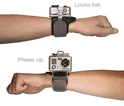 Wrist-Strapped Waterproof Camera