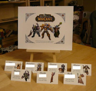 The World of Warcraft Table