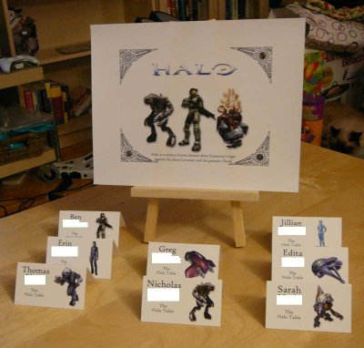 The Halo Table