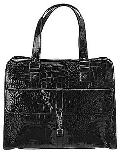 Nine West Patent Leather Laptop Bag is Only $99