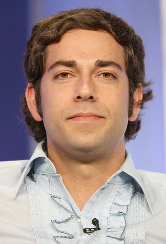Zachary Levi Uses His iPhone, Light Saber App at the TCAs