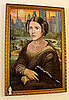 Artist Jim Hance's Mona Leia is a Parody of the Mona Lisa