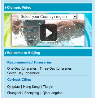 Official Olympics Website