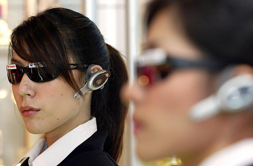 Do You Wear a Bluetooth Headset When It's Not in Use?