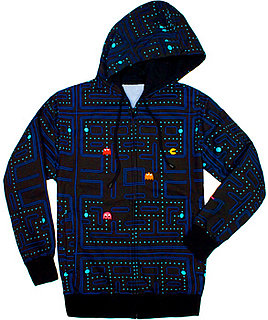 Pac-Man Hoodie: Totally Geeky or Geek Chic?