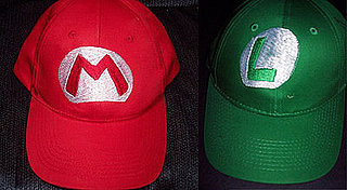Geeky Halloween Inspiration: Mario and Luigi Hats