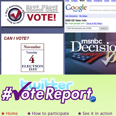 Five Online Tools to Help You on Election Day