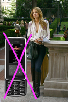 Serena Van Der Woodsen's Other New Cell Phone on Gossip Girl is the Samsung Flipshot