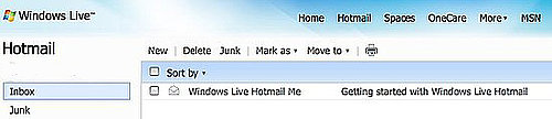 Hotmail Users Dislike Microsoft's Hotmail Redesign