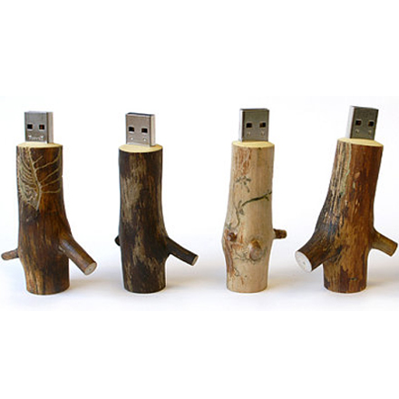 Wooden Memory Sticks