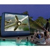 Inflatable 12' Widescreen Deluxe Outdoor Movie Screen $130