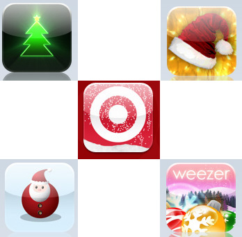 My Five Favorite Xmas iPhone Applications