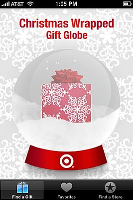Gift Globe by Target