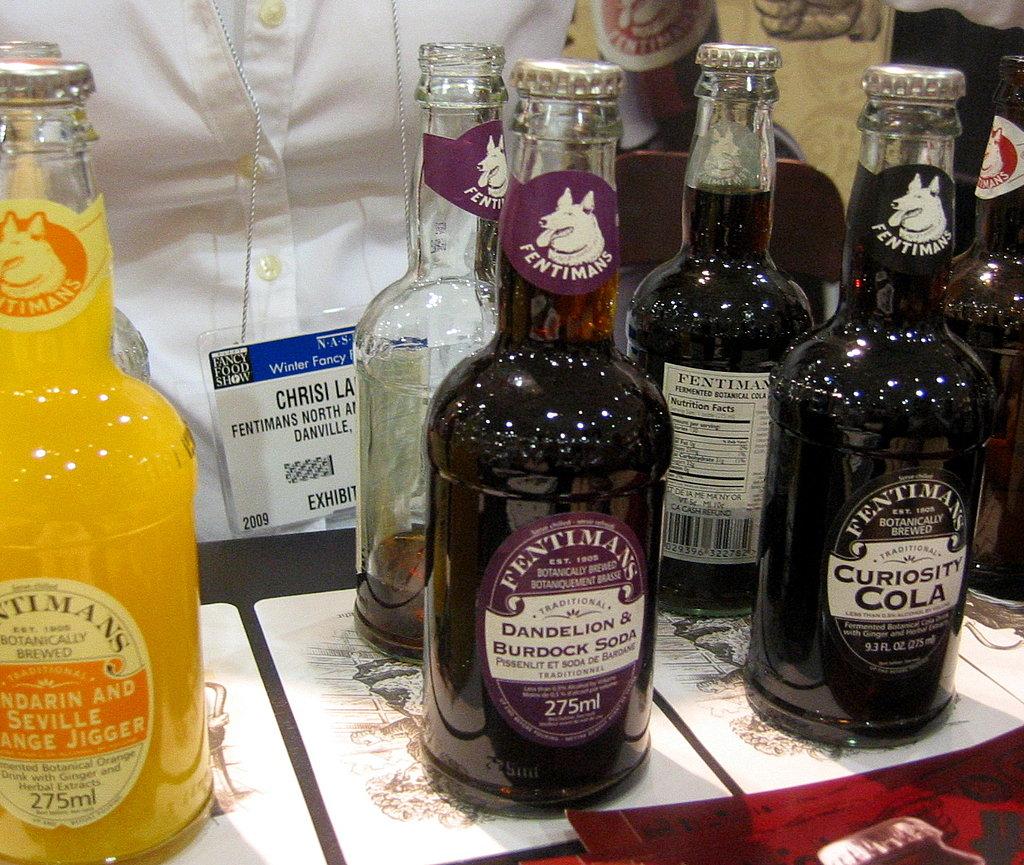 Fentiman's Dandelion & Burdock Soda