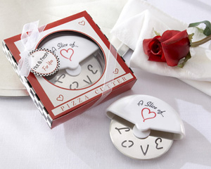 "They'll have a ""slice of love"" each time they use this stainless-steel pizza cutter."