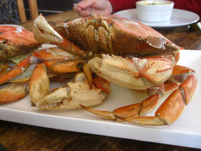 Serve immediately with hot butter, or just grab a leg and start cracking! If you're going to take the crab out of the shells for your guests, wait until the shells are cool enough to touch.