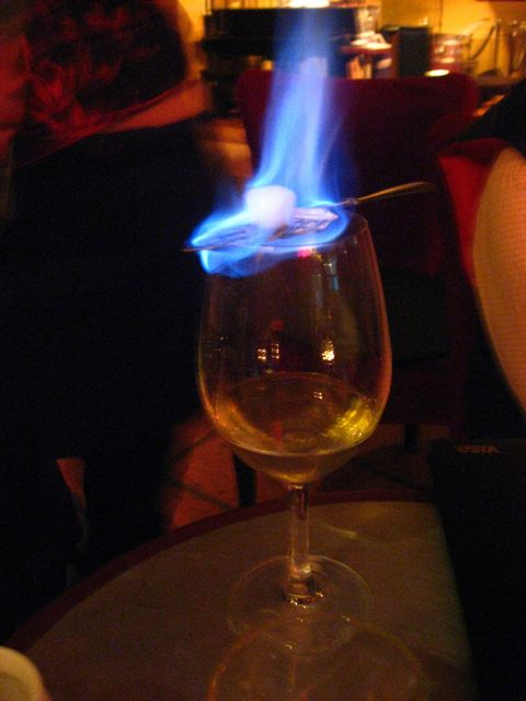 Have you ever had absinthe?