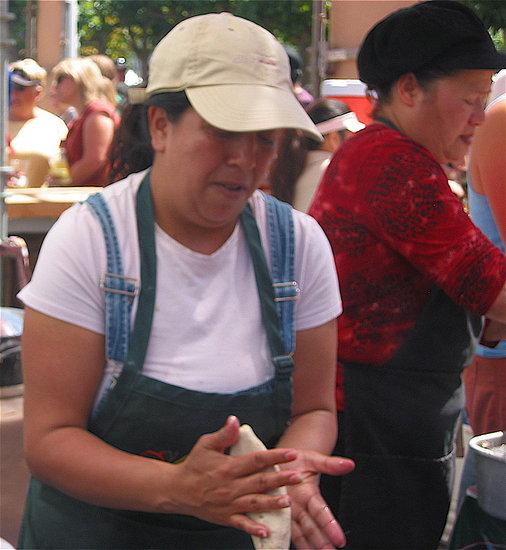 Molding Corn Masa