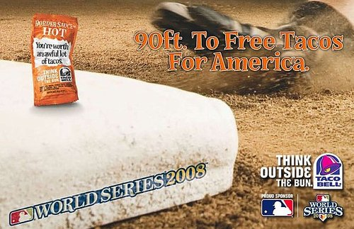 Taco Bell Promotes World Series With Free Tacos Again