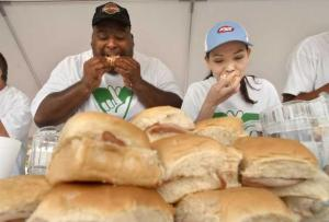 Tell us: Are you done with competitive eating?