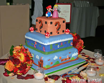 Mario Cake Take Two