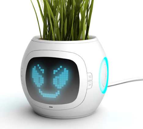 Digital Plant Pot