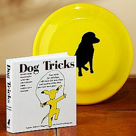 """Dog Tricks "" Book With Fetching Disc ($13)"