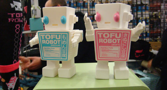 Spicy Brown's Tofu Robots