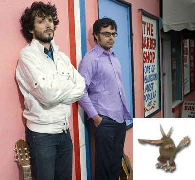 Flight of the Conchords and Battle Kiwi