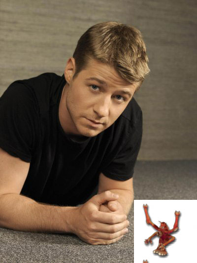 Ben McKenzie and AngryYoungMan