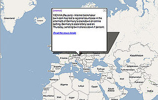 Get Your News Interactively with Breaking News Map